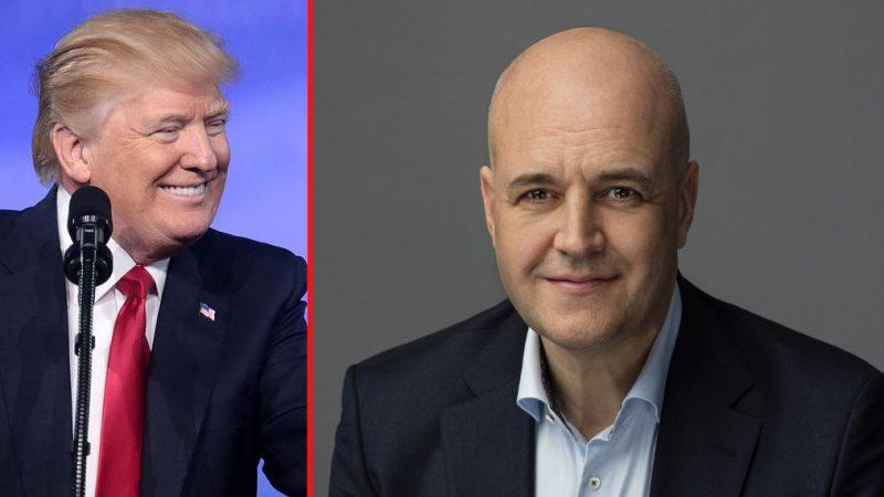 Spretigt när Reinfeldt tar sig an USA-valet