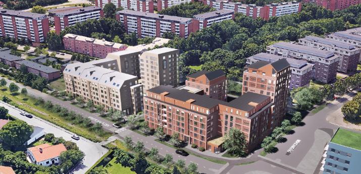 Klostergården ska få nya kvarter