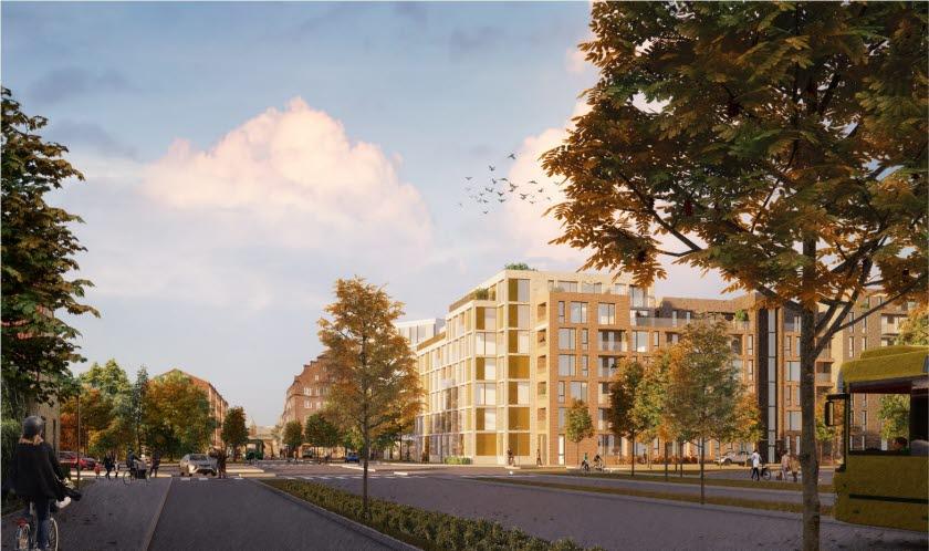 Nya kvarter i södra Lund