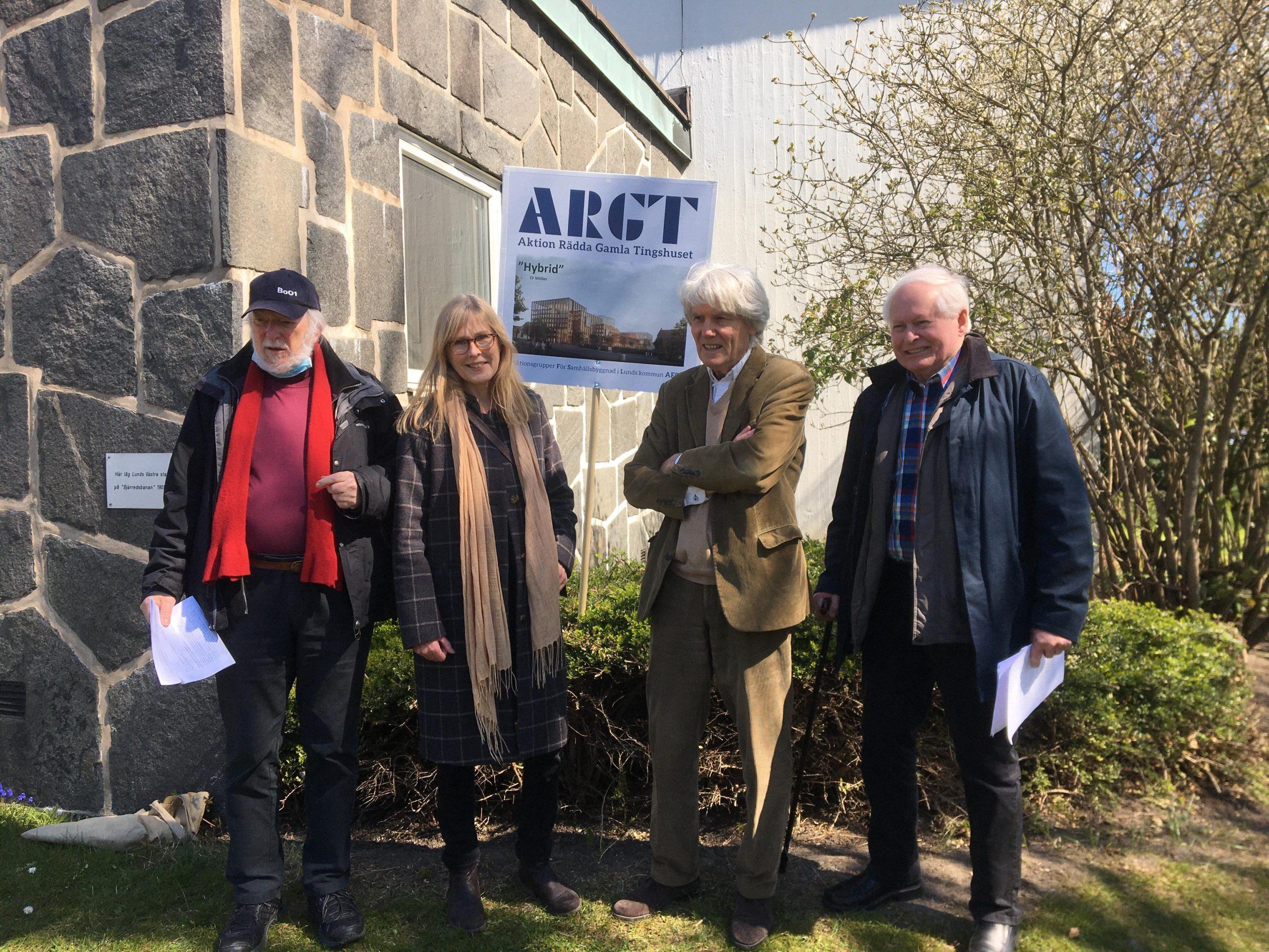 AFSL kritiserar de nya planerna för gamla Tingshuset